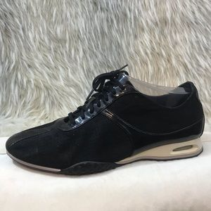 Cole Haan black and white sneakers 9.5
